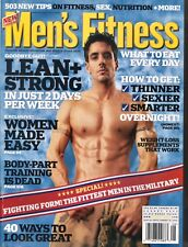 MEN'S FITNESS MAGAZINE ~~ August 2004 ~ Eat Your Way To A Leaner Body ~~ E-5-3