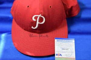 Robin Roberts PSA DNA Coa Autograph Phillies Signed Baseball Hat