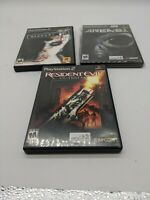 Lot of 3 PlayStation 2 Horror Games