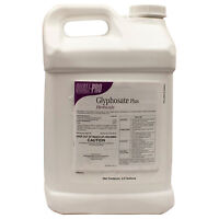 2.5 Gals Glyphosate Concentrate Herbicide 41% Weed Grass Killer Non-Selective