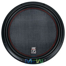 "*NEW* MTX 9515-22 3000W MAX 15"" 95-SERIES DUAL 2-OHM CAR AUDIO SUBWOOFER 951522"