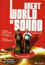 Great World Of Sound~2007 New Sealed Dvd~Pat Healy Rebecca Mader Kene Holliday