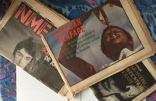 NME New Musical Express Mixed Lot B 1984 The Clash John Lennon Biba Kopf Punk
