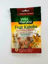 Wild Harvest Fruit Kabobs for Rabbies, Guinea Pigs, Hamsters, Gerbils, mice rats