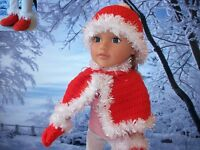 "Crochet pattern DK. 18"" Doll designer friend, American girl. gift, Christmas."