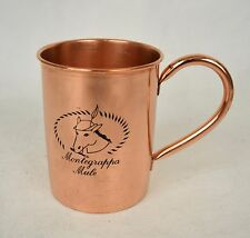 Montegrappa Mule 100% Copper Mug Cup Moscow Pen