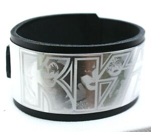 Kiss Rock Band Heavy Metal Music Aluminium Bracelet Wristband birthday gift