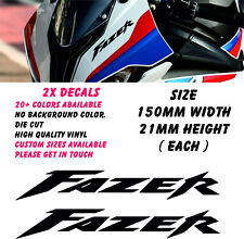 Yamaha Fazer V2 Stickers Decals Motorcycle Fairing Panel Belly Pan