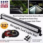 32inch 180w LED Light Bar Spot Flood Work Lamp Offroad Driving 4WD Truck Atv Ute