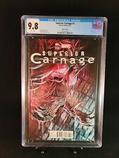 Superior Carnage 1  CGC 9.8 Marco Checchetto Variant Marvel Comics 2013