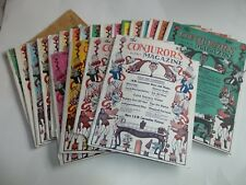 THE CONJUROR'S MAGAZINES - VOL. 2 # 2  TO #12, VOL 3 #1 TO 12, 2 MISSING