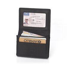 Men Real Leather Multi Credit Card Holder Business Name Debit Card Pocket Wallet