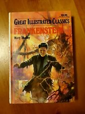 Vintage Mary Shelley FRANKENSTEIN Baronet Books Illustrated Classics Hardcover