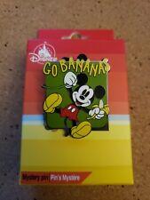 2021 Disney Character Food Mystery Pin Mickey Mouse 'Go Bananas'