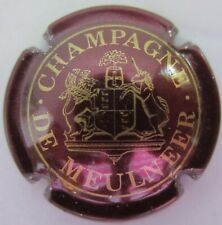capsule champagne DE CASTELLANE cuvée de Meulneer  marron et or no 32