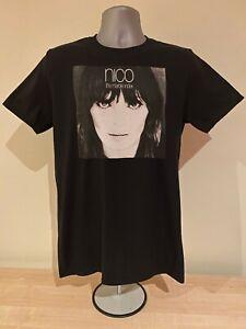 NICO T-SHIRT - Marble Index - Velvet Underground - Lou Reed John Cale