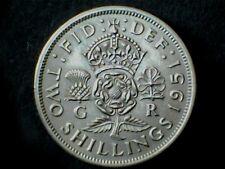 George VI 1951, Florin/Two Shilling, Cupro-Nickel. Grade Ex Fine.