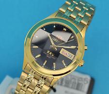 ORIENT 3 Stars Men's Automatic Mechanical Watch Facet Crystal FEM5V001D