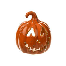 Halloween/Spettrale ~ in ceramica ~ ZUCCA ~ Lumino al titolare/Tè Leggero