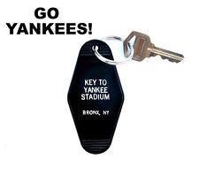 """KEY TO YANKEE STADIUM"" novelty KEY TAG New York Yankees baseball Bronx Bombers"