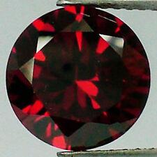 TWO PCS -  5 mm Ruby Russian Lab BRILLIANT CUT Blood Red 0.50 Carat