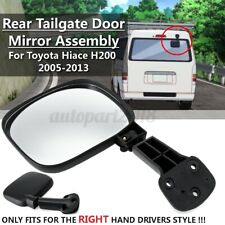 RHD Rear Tailgate Tail Door Mirror Assembly For Toyota Hiace H200 Series 05-13