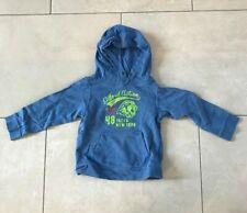 H&M Boys Girls Hoodie Fleece Jumper Sweatshirt Top Blue 110-116cm