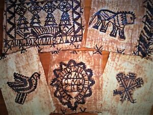 Selection of Tonga Tapa cloths Wall hangings Oceania folk art, Pacific Islands