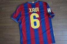 FC Barcelona #6 Xavi 100% Original 2009/2010 Home Jersey Shirt S USED [3014]