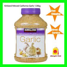 Kirkland Minced California Garlic 1.36kg eBargainClub
