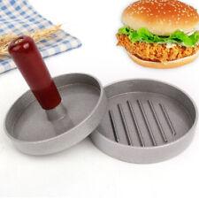 Mould Hamburger Press Grill Mold Plastic Aluminum Alloy Wood Non Stick Accessory