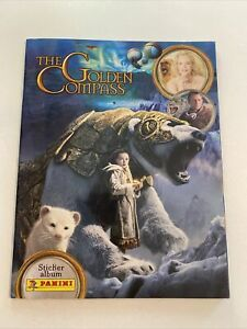 The Golden Compass Panini Sticker Book - Completed - His Dark Materials