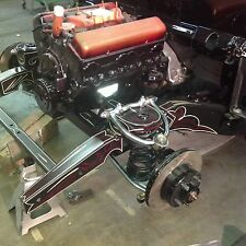 FATMAN 49-51 FORD SHOEBOX MUSTANG II FRAME STUB STAGE 4 WITH SLAM BAGS