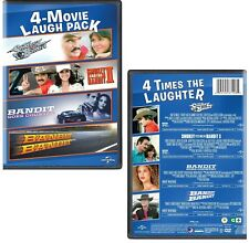 BANDIT 4 Movie Laugh PACK - SMOKEY & THE... I & 2, ...GOES COUNTRY - NEW DVD R1