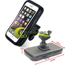 Motorcycle Bicycle Bike Handlebar Mount Holder Waterproof Bag for Cell Phone