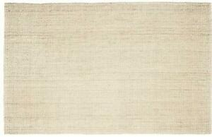 Anji Mountain AMB0338-0268 HandWoven Andes Jute Runner Ivory 2 Ft 6 W x 8 Ft L