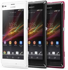 Sony Xperia L - 8GB - 8MP camera - 4.3 inches - Red -Unlocked Smartphone Grade A