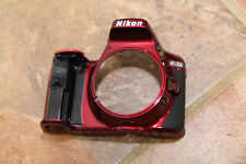 Nikon D5300 Digital Camera Front Cover Replacement Repair Part red