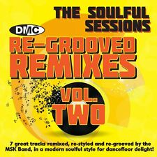 New DMC Re-Grooved Remixes 2 The Soulful Sessions ReMixed DJ CD By The MSK Band