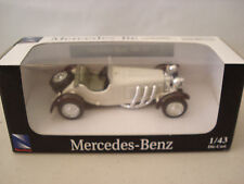 New Ray Mercedes Benz SSKL 1931 1:43 Scale Diecast