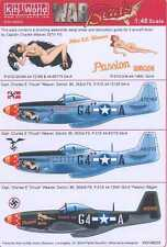 Kits World Decals 1/48 P-51D MUSTANG Charles Weaver's Passion Wagon #1