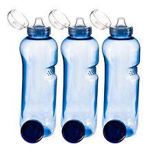 3 X 1 L Trinkflasche Achteck Wasserflasche ausTritan (bpa ) Flasche Greiner