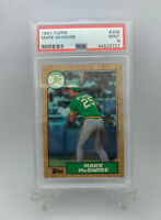 1987 Topps Mark McGwire #368 ROOKIE CARD PSA 9 Mint Oakland Athletics