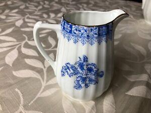 china blau milk jug
