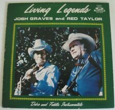 JOSH GRAVES & RED TAYLOR Living Legends LP 1983 OHS 90159 / DOBRO FIDDLE