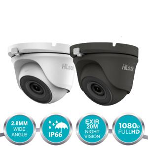 HIKVISION 1080P CAMERA HD CCTV DOME 20M EXIR IR NIGHT VISION OUTDOOR WHITE GREY