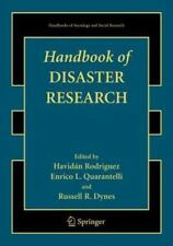 Handbooks of Sociology and Social Research: Handbook of Disaster Research...