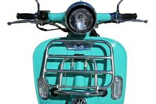 Bintelli Valor Scooter Body Cover Handle Down Part Cover Retro Teal Plastic OEM