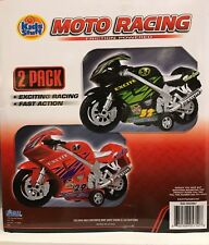 Kids Stuff Moto Racing Friction 2 Pack Powered Motor Cycles
