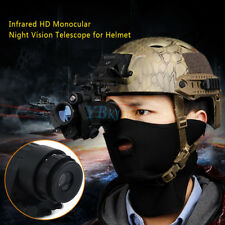 Digital Infrared Night Vision Monocular Helmet Telescope For Hunting Outdoor WD